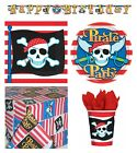PIRATE PARTY Birthday Range - Tableware Banners Balloons Decorations Supplies 1C