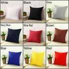 Hot New Square Home Sofa Decor Pillow Cover Case Cushion Cover Size 16x16""
