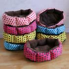 Hot sales! NEW! Colorful Leopard print Pet Cat and Dog bed