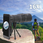 16x52 Zoom Dual Focus Monocular Telescope 98M/8000M with Phone Holder and Tripod