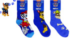 Kids Paw Patrol Character Socks - Chase Marshall Rubble - Nickelodeon Official