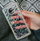 Luxury Rhinestone Women's Bling Crystal Diamond Soft TPU Phone Case Cover Skin