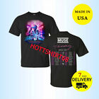Muse Simulation Shirt Theory World Tour 2019 Concert T-Shirt All Size Tee Men image