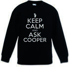 Keep Calm And Ask Cooper Kinder Pullover Twin Fun Peaks Dale Bartholomew Cooper