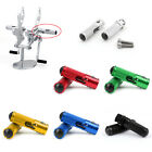 CNC Folding Foot Pegs Footpeg Rear Set Rest Racing For Universal Motorcycle AT1 image