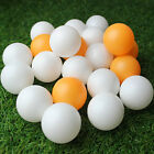 100/150Pcs Ping Pong Ball White & Orange Plastic Table-tennis Sports Accessory