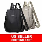 Women Waterproof Oxford Cloth Travel Backpack Nylon Anti-theft Shoulder Rucksack image
