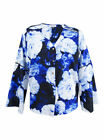 Calvin Klein Women's Plus Size Floral-Print Bell-Sleeve Blouse