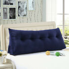 Large Bolster Triangular Reading Backrest Positioning Support Wedge Bed Pillow