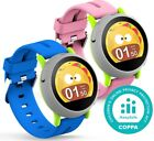 Coolpad Dyno Smartwatch Kids Smart Watch Blue Pink w/ GPS, Calling Feature