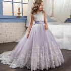 Blumenkind Prinzessin Mädchen TOP Kleid Party Ball Kommunion Taufe Fest BC663