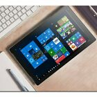 """2IN 1 10.8"""" FHD IPS Laptop Computer Quad-Core 4GB RAM 128GB 1.92GHz PC NS"""