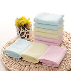 Baby Infant Newborn Soft Cotton Bath Towel Bathing Washcloth Feeding Wipe Towels