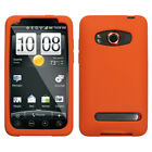 For HTC Evo 4G Silicone Skin Rubber Soft Case Phone Cover