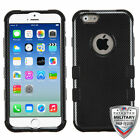 Apple iPhone 6 6S (4.7) SHOCKPROOF IMPACT ARMOR TUFF Hybrid Case Cover