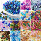 400PCS 4mm Glass Beads Magic Colorful Craft Beads Set DIY Jewelry Accessories