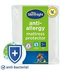 Silentnight Mattress Protector Anti Allergy Quilted Single Double King Super K