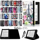 'For Amazon Kindle 4/5/7/8/9 Paperwhite 1/2/3/4 - Folio Stand Leather Cover Case