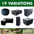 Kct Garden Furniture Cover Weatherproof Protection Outdoor Patio Table Black Set
