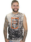 Harley-Davidson Mens Oil Shop Acid Wash Sleeveless Muscle Shirt Distressed $12.99 USD on eBay