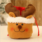 Christmas Eve Santa Claus Snowman Elk Candy Apple Gift Bags Xmas Tree Hanging LD
