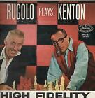 PETE RUGOLO AND HIS ORCHESTRA Rugolo Plays Kenton LP VINYL UK Mercury 1959 12
