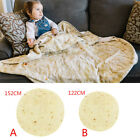 "Tortilla Blanket Burrito 60"" Blanket - Corn and Flour Tortilla 71"" Throw 