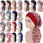 Kyпить Womens Muslim Hijab Cancer Chemo Hat Turban Cap Cover Hair Loss Head Scarf Wrap на еВаy.соm