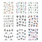 Nail Sticker Multiple Patterns Watermark Nail Decals for Toe and Finger Women HL