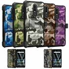 For Nokia Feller | Feller Dual Layer Holster & Kickstand Case - Camo Design