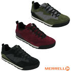 Merrell Burnt Rock Tura Suede Leather Lace Trainers Mens Walking Shoes