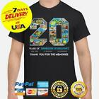 20 Years Of Spongebob Squarepants Thank You For Memories Tshirt All Size
