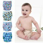 One Size Washable Baby Reusable Cloth Diapers TPU Pocket Nappy Covers Inserts