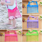 Mesh Beach Bag Kids Pack Tote Portable Carrying Toy Ball Storage Pouch Us Rr