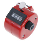 1pc 4 Digit Number Manual Tally Counter Digital Golf Clicker Training CounterES