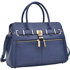 Dasein Medium Satchel with Shoulder Strap 9 Colors