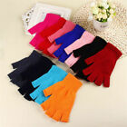 Kyпить 1 Pair Soft Half Fingerless Gloves Women Men Warm Knitted Mittens Couple Winter на еВаy.соm