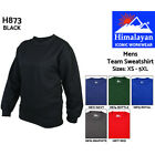 Himalayan Team Sweatshirt Mens Triple Stitched Crew Neck Work Sweater Jumper