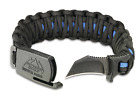 Outdoor Edge PARA-CLAW Paracord Survival Bracelet  Knife - Available Colors