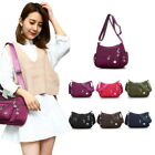 US New Casual Women Bag Multi Compartment zipper Shoulder Bag Messenger Bag HL
