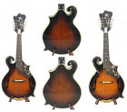 Alulu F5 style Mandolin Solid Maple wood & Spruce top with hard case NF5MI44-46 for sale  Shipping to United States