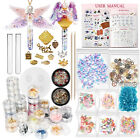 Resin Magic Wand Tube Stopper Shaker Silicone Mold Jewelry Casting Set of 78-kit