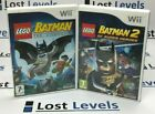 Wii - Lego Batman Or Lego Batman 2 - Boxed - Vgc - *multi Listing*