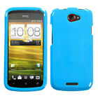 Solid Natural Hard Cover Snap on Protector Case for HTC One S