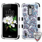 For LG Treasure/Tribute/K7 Rugged Shockproof TUFF Hybrid Protector Cover