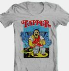Top Holiday Gifts Tapper T-shirt retro 80's arcade game video game cotton blend graphic grey tee