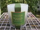 CRABTREE EVELYN WINDSOR FOREST BOTANICAL PILLAR CANDLE~SEALED 40 HR EMBED DECOR