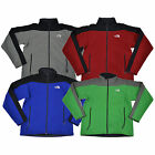 The North Face Mens Jacket Fleece Lined Soft Shell Full Zip Logo Pockets New Nwt