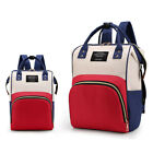 New Mummy Maternity Nappy Diaper Bag Large Changing Baby Travel Backpack Handbag
