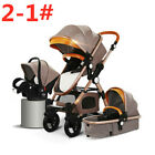 Baby Stroller 3/4 in 1 Car Safety Seat Stroller With Accesories Newborn Portable